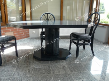 Table LISSAC avec 2 allonges